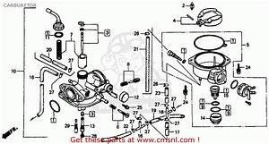 Baja Mini Bike Carb Diagram