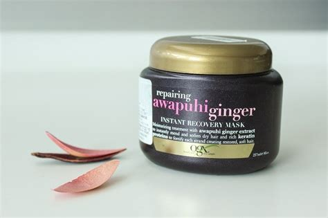 Ogx Repairing Awapuhi Ginger Instant Recovery Mask Review