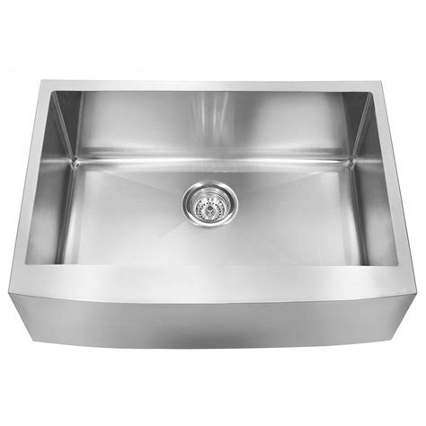 18 gauge stainless steel sink franke farmhouse undermount stainless steel 30x20 75x10 18