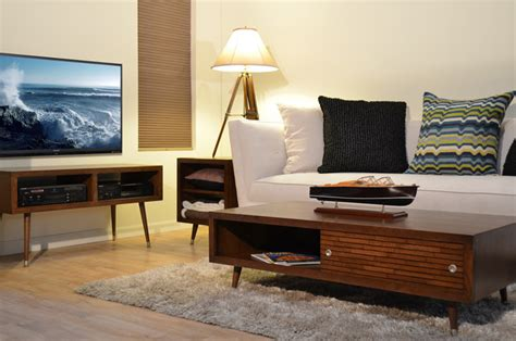 mid century living room furniture mid century modern furniture mayan mocha modern living room san diego by woodwaves inc