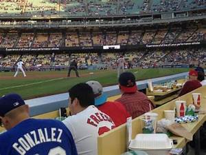 Dodger Stadium Section 39bl Home Of Los Angeles Dodgers