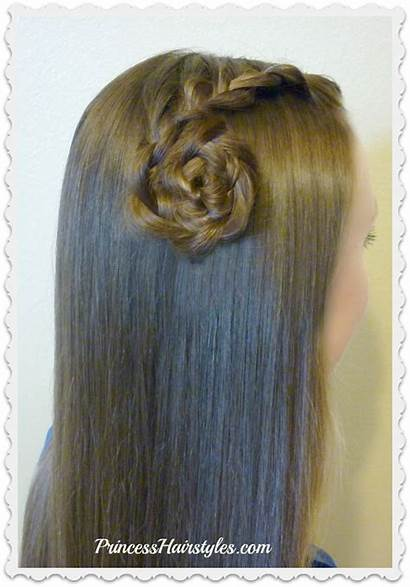 Side Hairstyles Braid Easy Quick Lace Rose