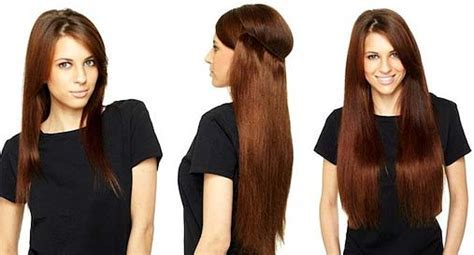 hair extensions to add volume before and after