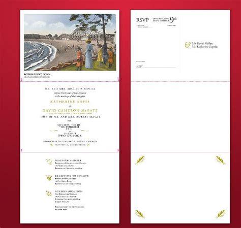 12 Tri Fold Wedding Invitation Templates Psd Free