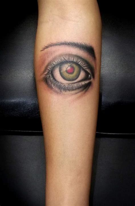 Tattoo D'un Oeil Inkage
