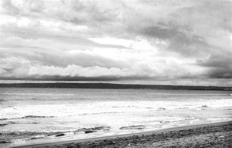 sea black  white nature beach hd grayscale images monochrome wallpapers dark