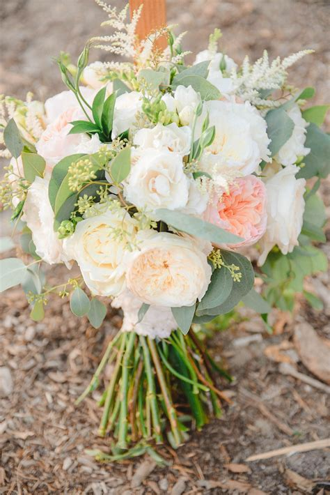 Florals By Jenny Soft Peach And Cream Wedding At The