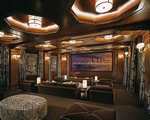 Media Home Cinema : 35 modern media room designs that will blow you away ~ Markanthonyermac.com Haus und Dekorationen