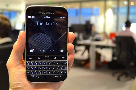 Blackberry Classic Review Going Backwards Before Moving