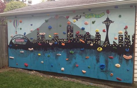How To Make Backyard Climbing Wall