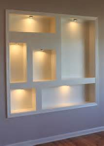 new kitchen cabinet ideas lighted display niches contemporary new york by