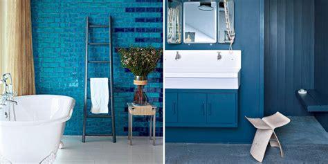 salle de bains bleue design toutes nos inspirations