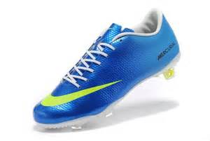 Nike Blue Mercurial Soccer Cleats