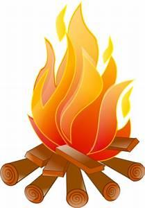 Campfire No Shadow Clip Art at Clker.com - vector clip art ...
