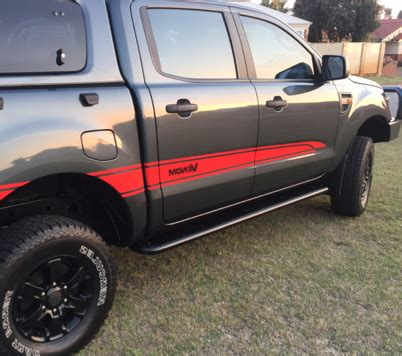 ford ranger px rock armor rock sliders factory direct 4x4