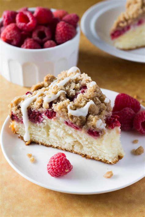 This pumpkin coffee cake recipe tastes like fall. Raspberry Coffee Cake - Just so Tasty