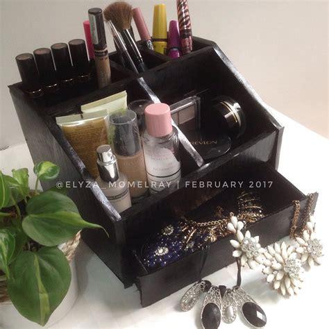 Rak Kosmetik Dari Plastik tutorial cara membuat rak make up make up organizer dari