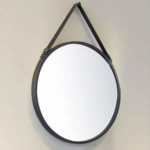 Miroir Rond Cuir : miroir rond meubles de salle de bains baignoires fabricant fran ais cedam ~ Teatrodelosmanantiales.com Idées de Décoration