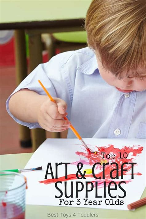 top  art craft supplies   year olds