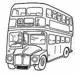 Coloring Bus Safety Printable Buses Sheet Getcolorings sketch template