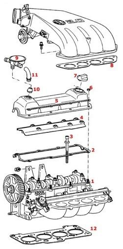 1996 Vw Gti Engine Diagram by Partsplaceinc Vw Parts Cylinder Heads 2 0 Vr6 Tdi