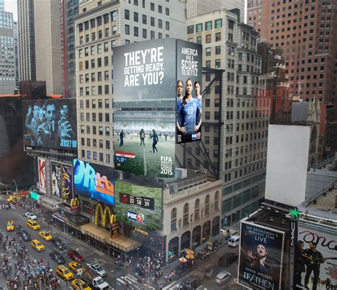 steve lewis - Women's World Cup Weather Board (Times Sq)
