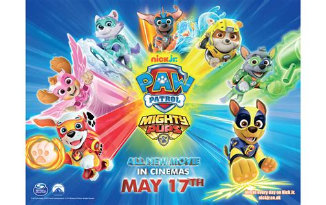 win    paw patrol mighty pups gala screening