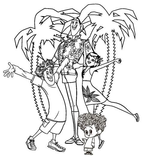 hotel transylvania coloring pages  coloring pages  kids