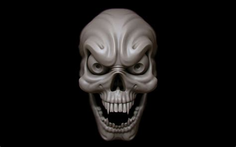 3d Wallpapers Horror by Horror Skull Wallpapers 44 Images