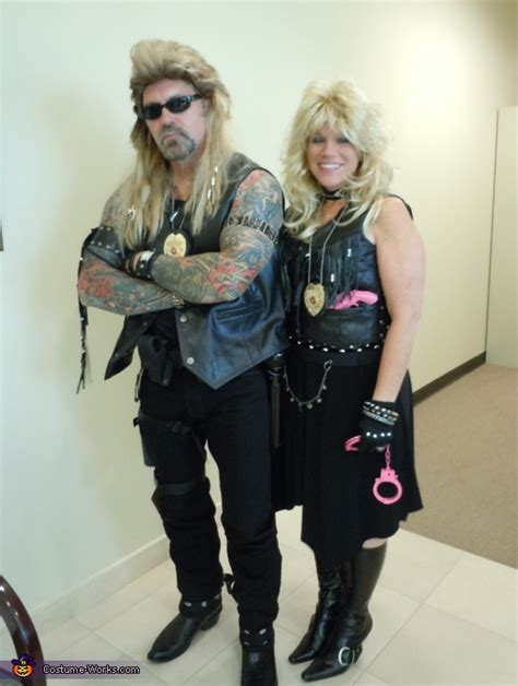 the bounty hunter dog and beth chapman couple costume