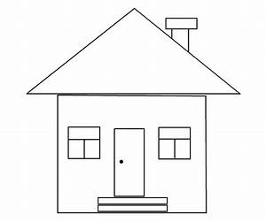 How To Draw A House With Shapes