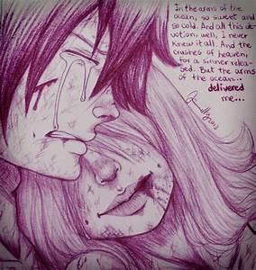 Sad Gruvia fanart. ;_; I never want to think about Juvia ...