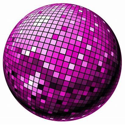 Disco Ball Clipart Bola Purple Clip Discoteca