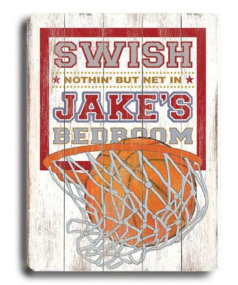 At 16 wide by 15 tall, it's the perfect fit for your teen. This basketball-themed personalized sign provides encouragement for little athletes to shoot not ...