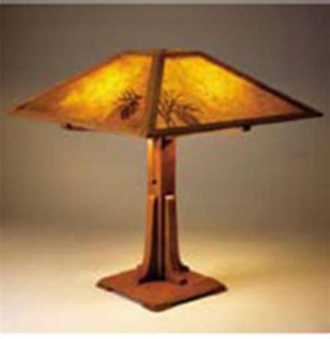 arts crafts lamp plan woodworking plan  wood magazine wood working ideas pinterest