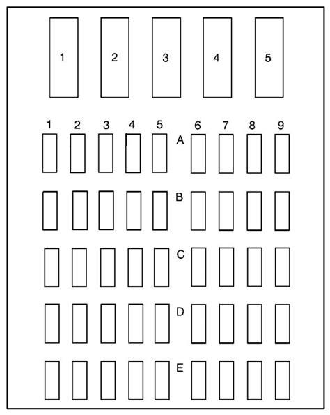 Fuse Diagram 2000 Buick Park Ave by 1994 Buick Century Parts Diagrams Downloaddescargar