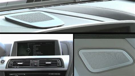2012 Bmw 6 Series Coupé With Bang & Olufsen Audio Sound