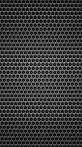 Pattern black metal wallpaper sc SmartPhone