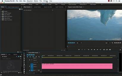 Effect Premiere Pro Custom Effects Create Workspace