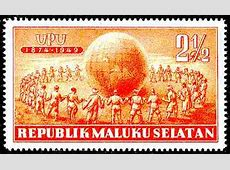 Postage stamps and postal history of South Moluccas