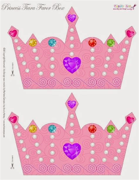 Free Printable Princess Crown Template by Exle Free Printable Princess Crown Template Free