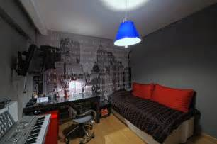 bedroom decorating ideas lighting in a musical studio