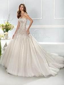 bustier col en coeur robe de mariee romantique tulle With robe bustier coeur