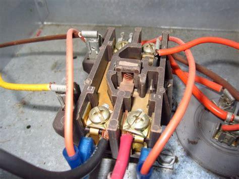 rheem ac new contactor wiring hvac diy chatroom home improvement forum