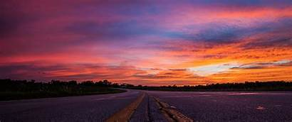 Road Sky Sunset Sun Skies Sunrise Morning