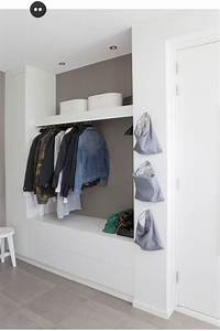 Kleiderstange Für Schrank : ber ideen zu garderoben auf pinterest kleiderst nder mantelhaken und palletten ~ Whattoseeinmadrid.com Haus und Dekorationen