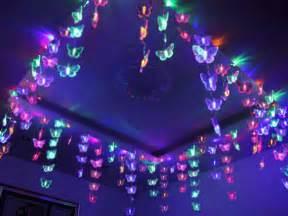 3x0 7m lovely butterfly net led string light l ceiling night light christmas room outdoor