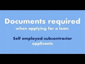 Self employed documents required when applying for a home for Documents needed for mortgage self employed
