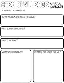 Free Printable Worksheets Stem