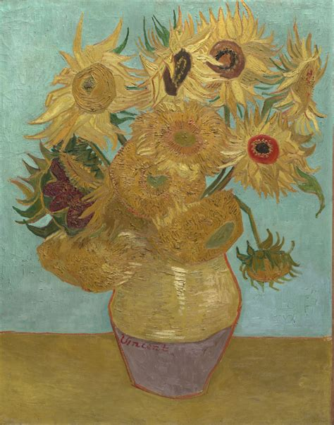 vincent gogh artwork history the sunflowers vincent gogh